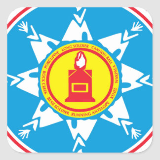Standing Rock tribe logo Square Sticker