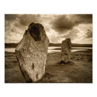 Standing Stones of Callanish Photograph