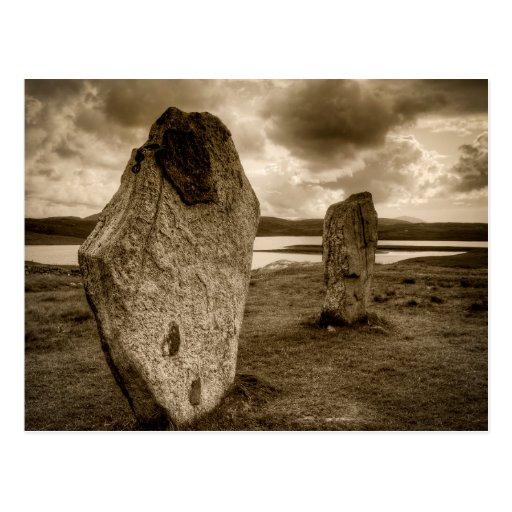Standing Stones of Callanish Post Card