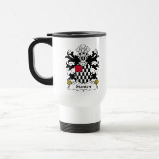 Stanton Family Crest Stainless Steel Travel Mug