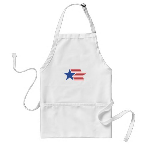 Star and Stripes Aprons