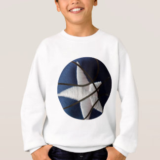 Star basket sweatshirt