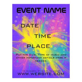 Star Bust Event Flyer