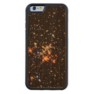 STAR CLUSTER (an outer space design) ~ Carved® Cherry iPhone 6 Bumper Case