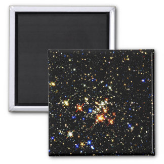 STAR CLUSTER (an outer space design) ~ Fridge Magnets