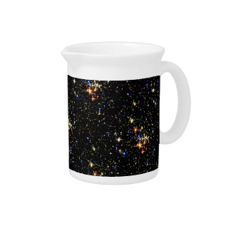 STAR CLUSTER (an outer space design) ~ Beverage Pitcher