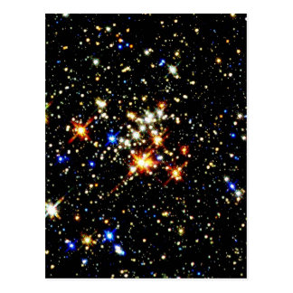STAR CLUSTER (an outer space design) ~ Postcard