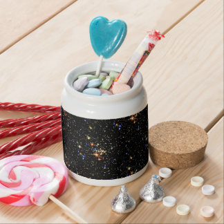 STAR CLUSTER (an outer space design) ~ Candy Dish