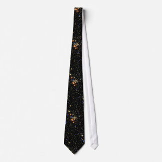 STAR CLUSTER (an outer space design) ~ Tie