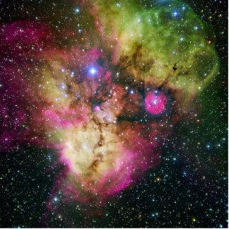 Star Cluster Nebula NGC 2467 Photo Cutout