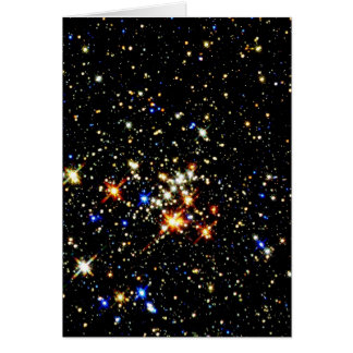 STAR CLUSTER ~ (outer space design) ~ Greeting Card