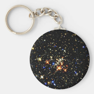 STAR CLUSTER ~ (outer space design) ~ Key Chain