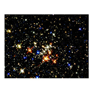 STAR CLUSTER ~ (outer space design) ~ Postcard