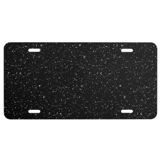 STAR EXPANSE (an outer space design) ~ License Plate