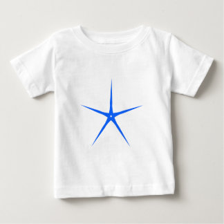 Star five-angularly star five POINTs Baby T-Shirt