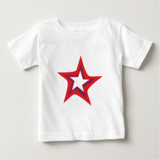 Star five-serrate star pentacle baby T-Shirt