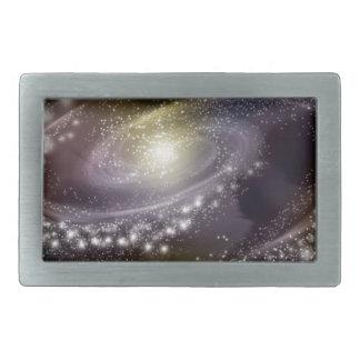 Star Galaxy Galactic Space Print Belt Buckles