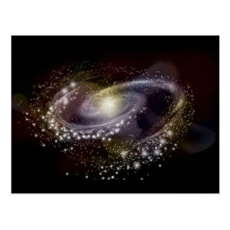 Star Galaxy Galactic Space Print Postcard