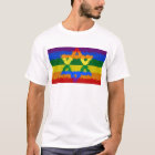 Star of David - Jewish - Gay Pride T-Shirt