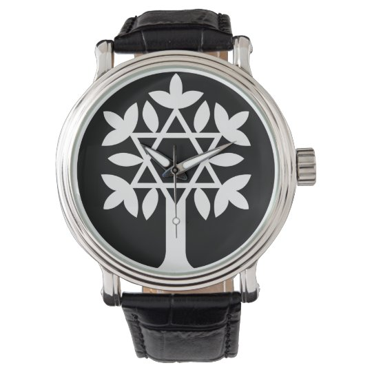 Star of David - Tree of Life Watch. Watch