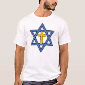 Star of David with Cross T-Shirt