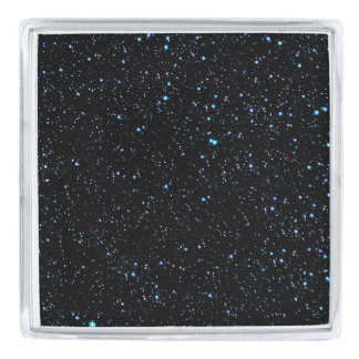 STAR PATTERN: STARRY NIGHT! SILVER FINISH LAPEL PIN
