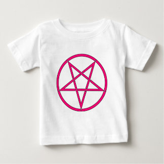 Star Pentagram Five 5 Pointed Symbol Classic Comic Baby T-Shirt