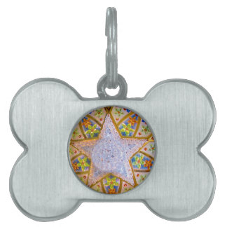 Star Pet Name Tags