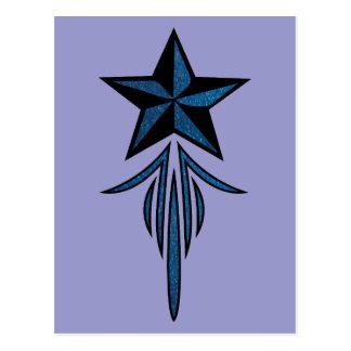 Star Pinstripe Post Cards