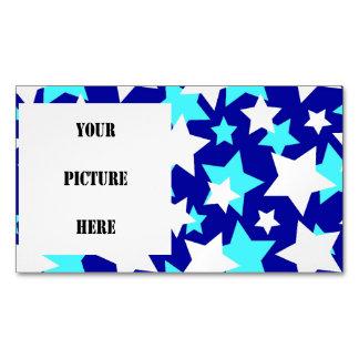 STAR POWER Blues ~.jpg Magnetic Business Card