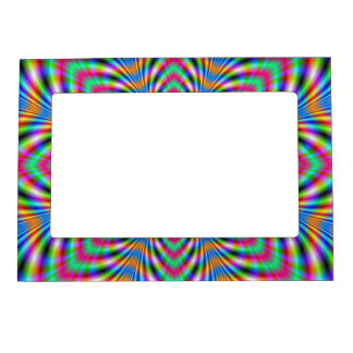 Star Psychedelic Magnetic Picture Frame