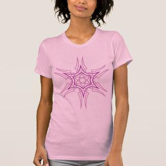 """""""Star"""" Purple Pinstripe T-Shirt"""