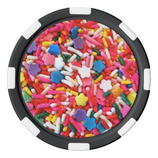 Star Sprinkles Set Of Poker Chips