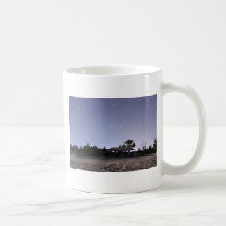 Star Trails Basic White Mug