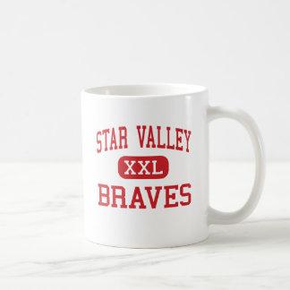 Star Valley - Braves - High School - Afton Wyoming Coffee Mug
