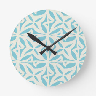 Starfish Abstract Pattern Wall Clocks