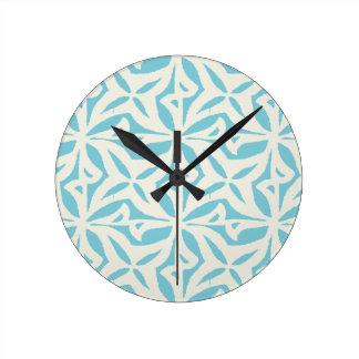 Starfish Abstract Pattern Wall Clocks