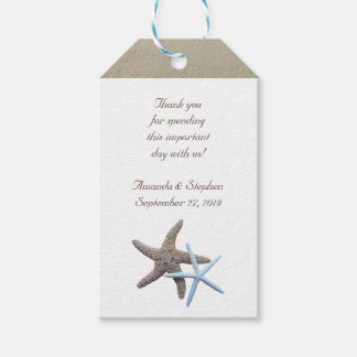 Starfish Couple Thank You Wedding Favour