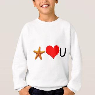 Starfish Hearts You Sweatshirt