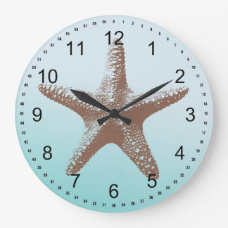 Starfish Large Clock