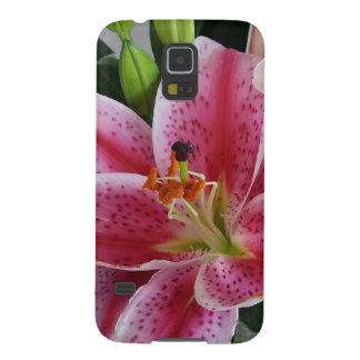 stargazer lily phone case