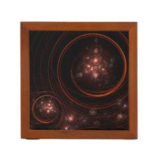 Starlight Abstract Art Desk Organiser