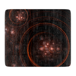 Starlight Abstract Art Rectangle Cutting Board