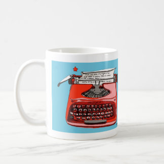 Starlight Starfire Typewriter Basic White Mug
