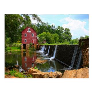 Starr's Mill Dam Postcard