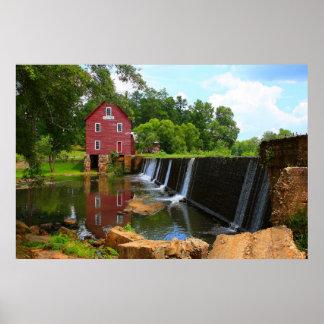 Starr's Mill Dam Poster