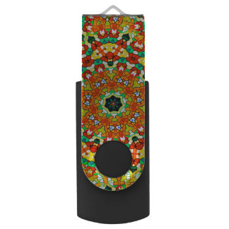 Starry Bold Kaleidoscope USB Flash Drive
