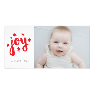 Starry Joy Photo Card Template