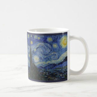 Starry Night by Vincent van Gogh - 1889 Coffee Mug
