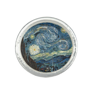 Starry Night by Vincent van Gogh. Famous art